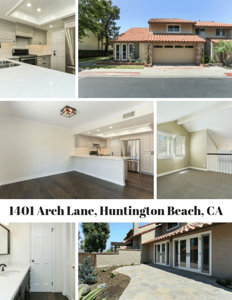 Welcome to your beach close home in downtown Huntington Beach. 1401 Arch Lane, Huntington Beach is a beauty. Let's take a look at this gorgeous home and zoom in on some of the details of this great property. You can also see the walkthrough video and learn more about any open houses we have scheduled below!