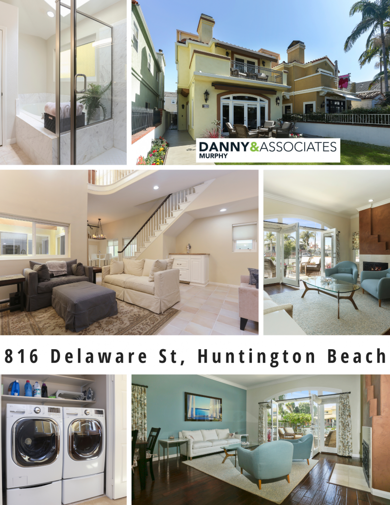 Custom Beach Home Close to Downtown & Pacific City. Beautifully Remodeled, Meticulously Maintained, Paid for Solar. 816 Delaware Street, Huntington Beach is Being Sold Fully Furnished + 2 New Electric Bikes!