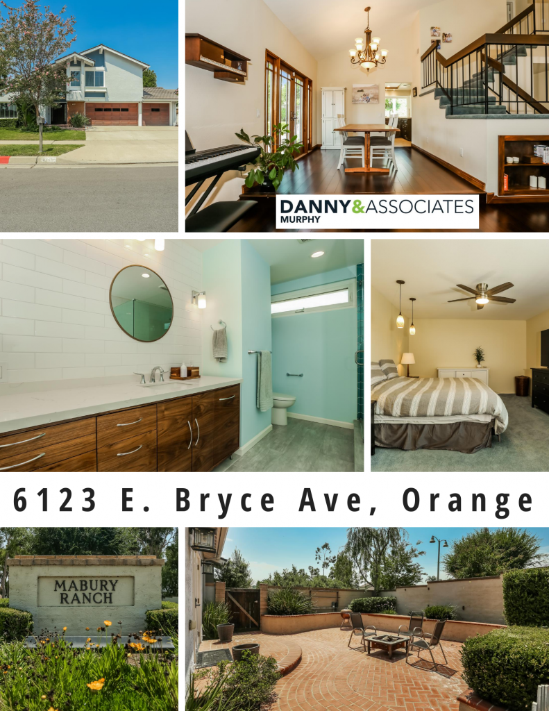 6123 E. Bryce Ave, Orange is a beautiful 4 bedroom, 2.5 bathroom, interior tract location in the Mabury Ranch community. This 3 Car garage, corner lot sits on a very large 9,350 SqFt lot with plenty of upgrades throughout!